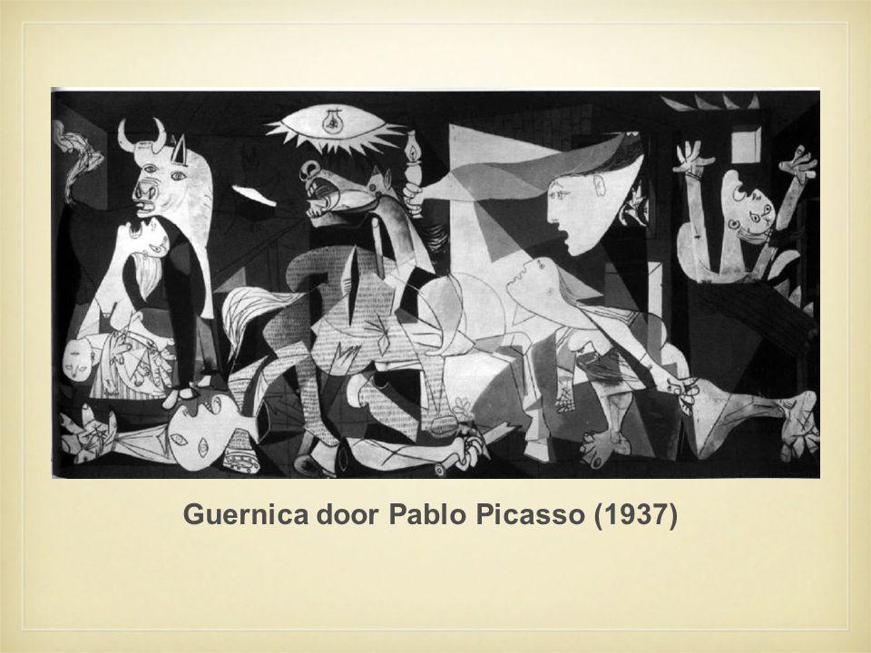 Guernica door Pablo Picasso (1937)