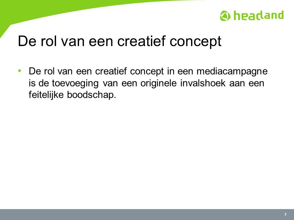 34 Creatief concept: Drie richtingen