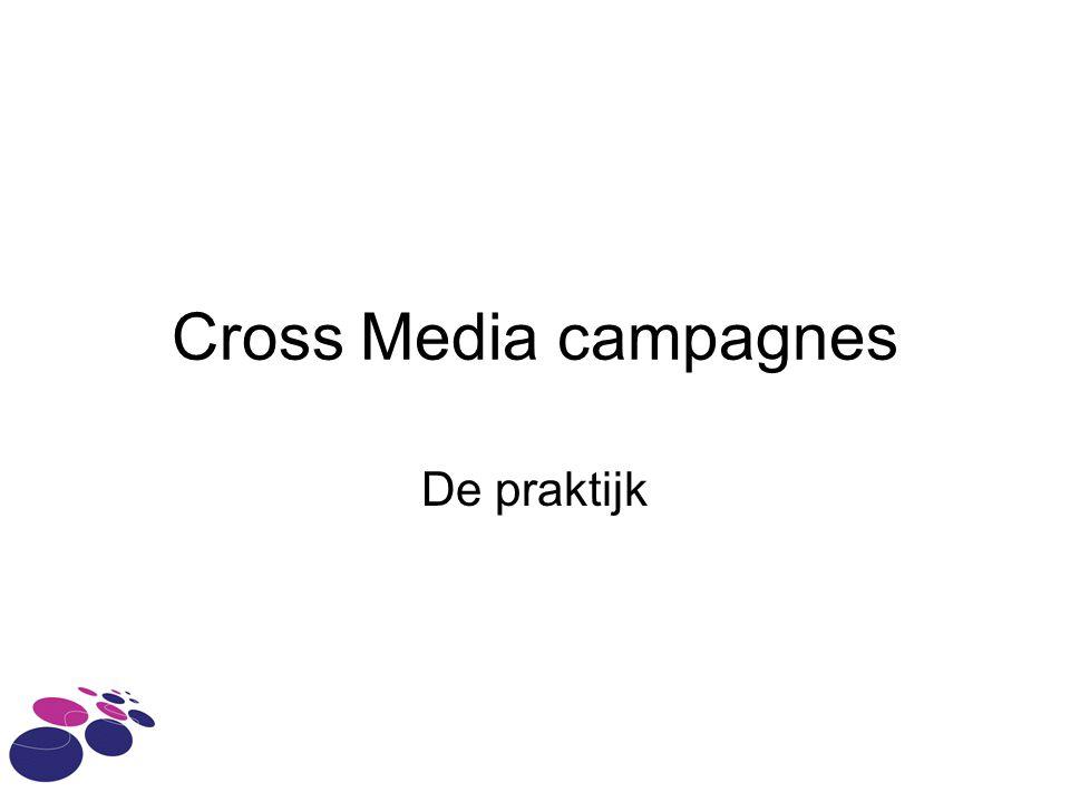 Cross Media campagnes De praktijk