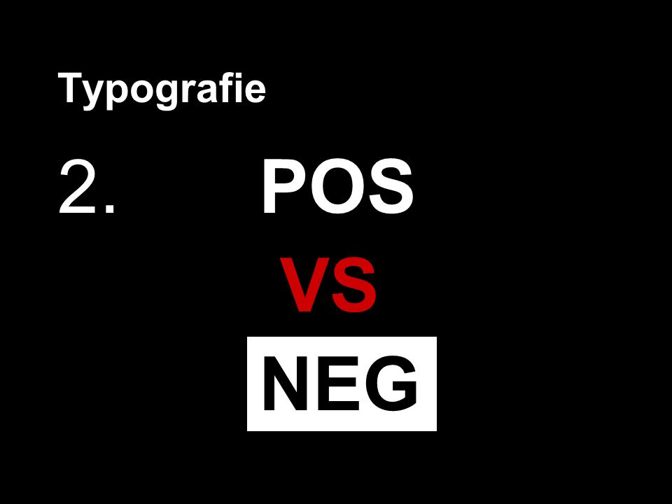 2.POS VS NEG