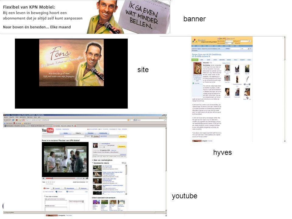 banner hyves site youtube