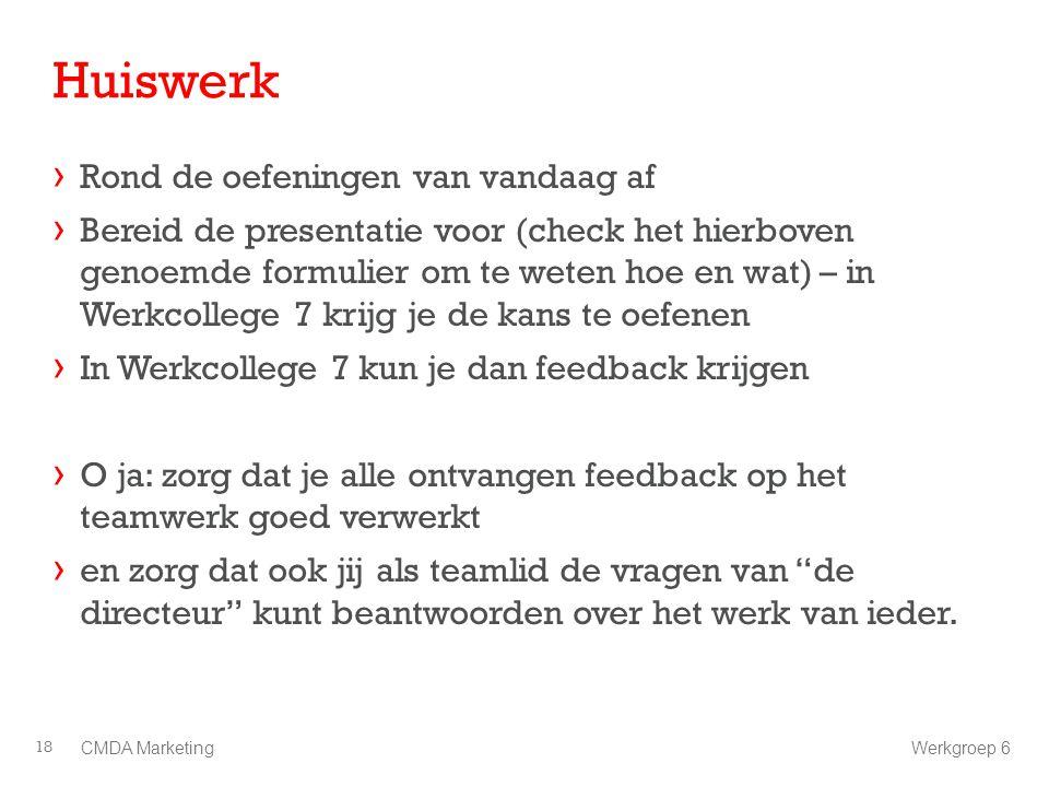 Huiswerk › Rond de oefeningen van vandaag af › Bereid de presentatie voor (check het hierboven genoemde formulier om te weten hoe en wat) – in Werkcol