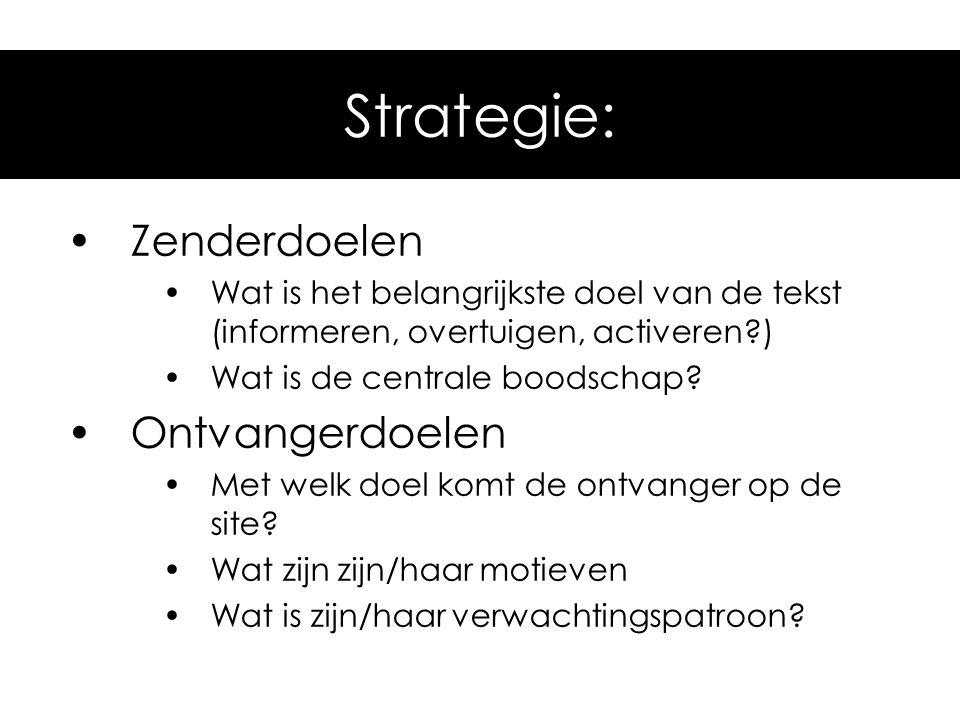 belangrijke hoofddoelen in zakelijke communicatie: Informeren (voorlichting, journalistiek).
