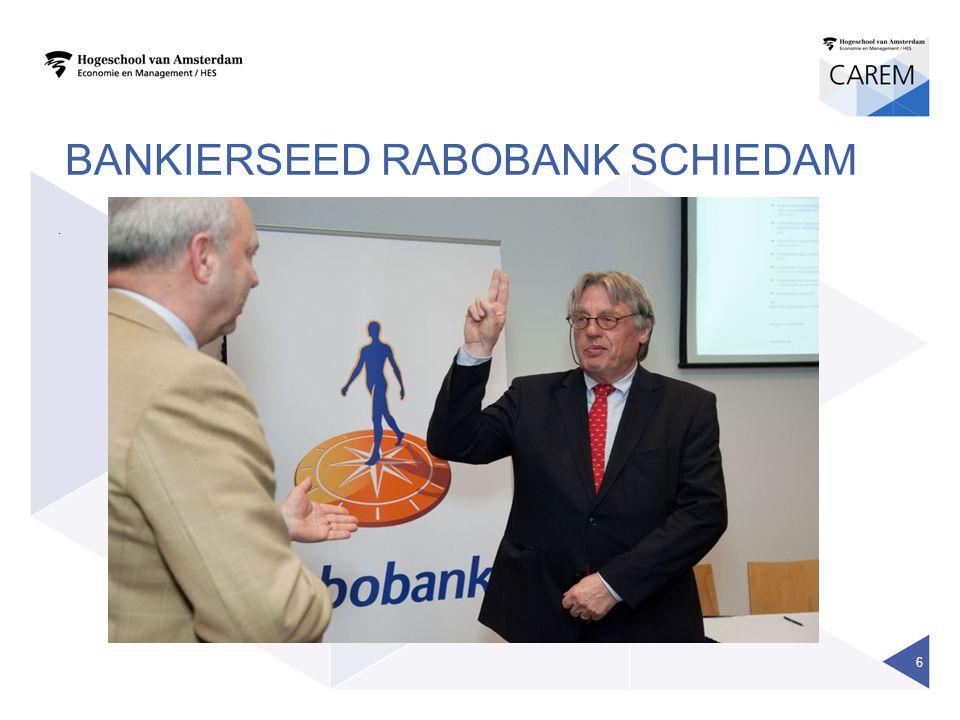 BANKIERSEED RABOBANK SCHIEDAM. 6