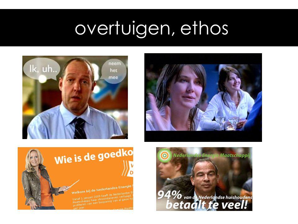 overtuigen, ethos