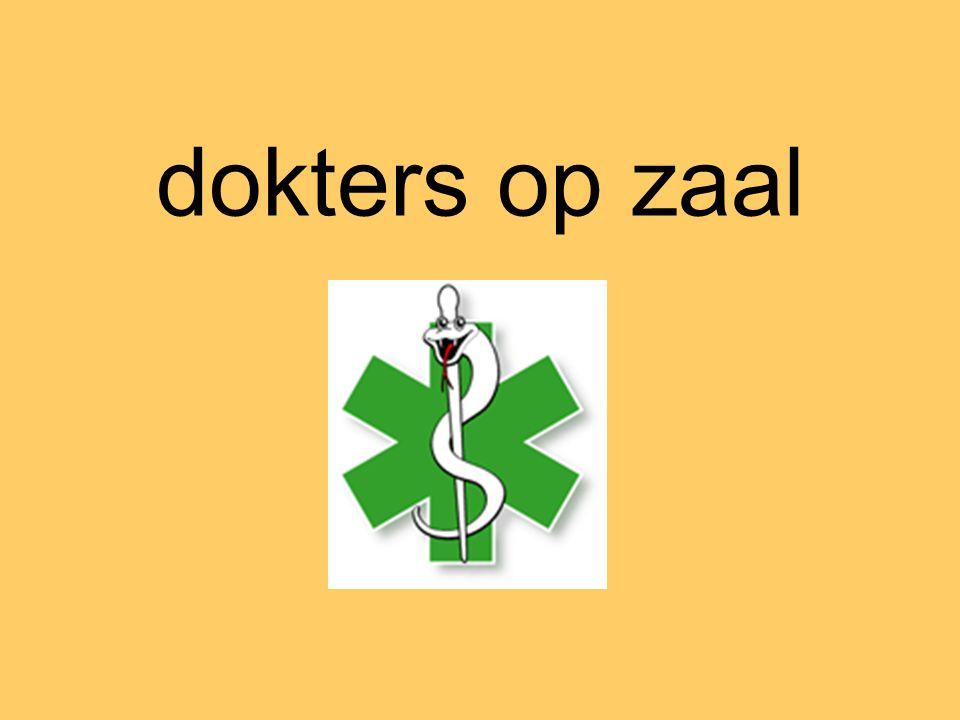 dokters op zaal