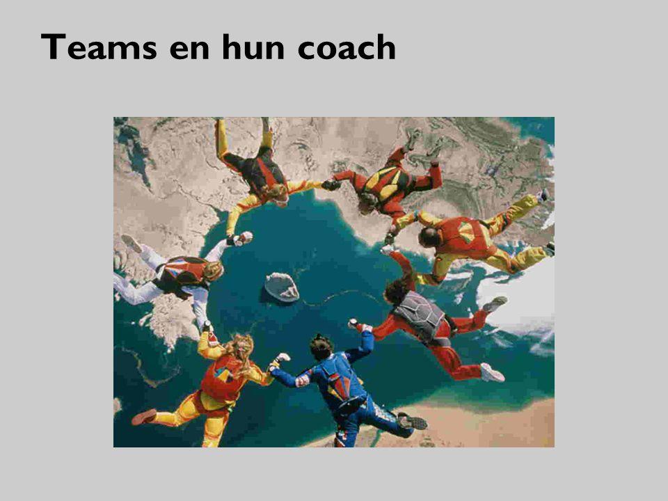Teams en hun coach