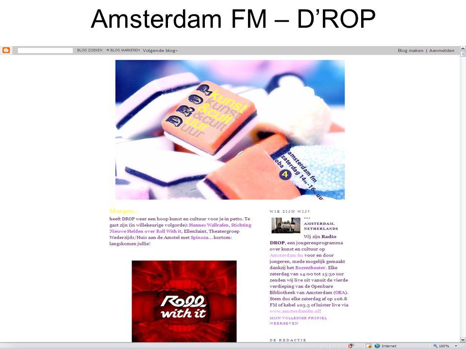 Amsterdam FM – D'ROP