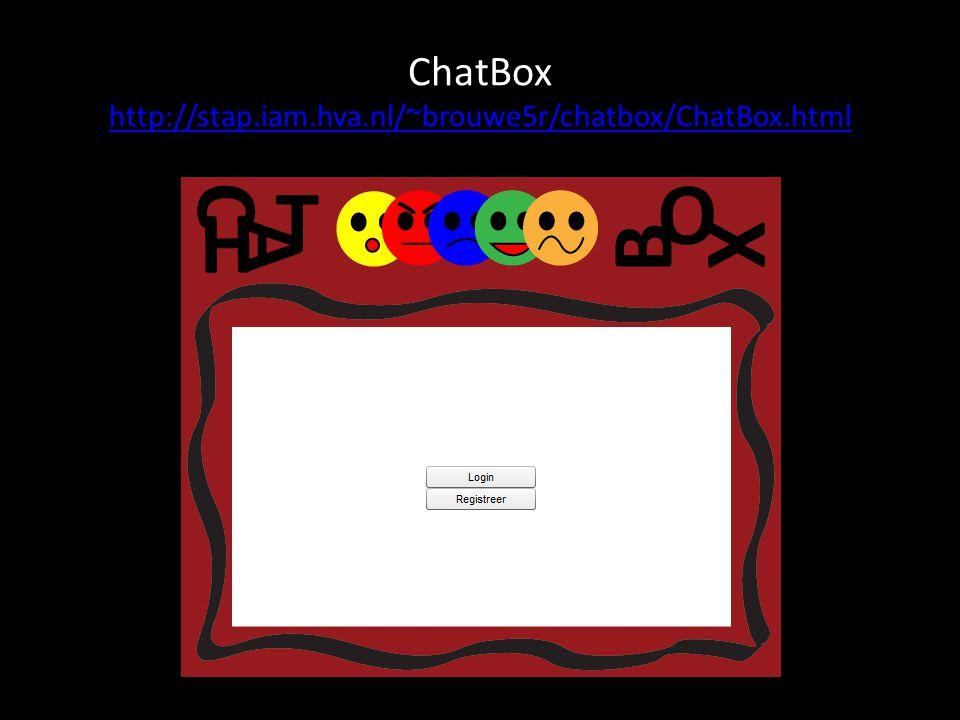 Tips voor mensen die een chatbox gaan maken! Refreshen VS