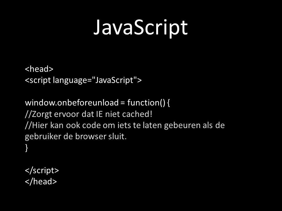 ActionScript 3.0 mijnLader = new xmlLoader( select.php?cacheKiller= + (new Date()).getTime()) Kan ook Math.random() gebruiken.