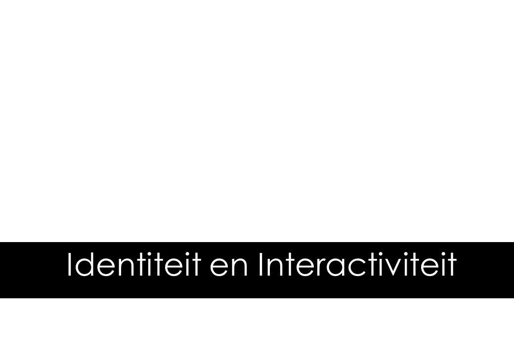 © Lost Boys 2006 Identiteit en Interactiviteit