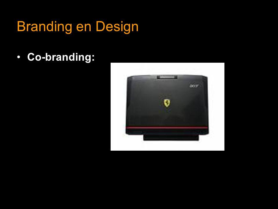 Branding en Design Co-branding:
