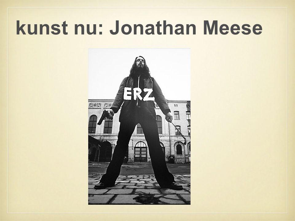 kunst nu: Jonathan Meese