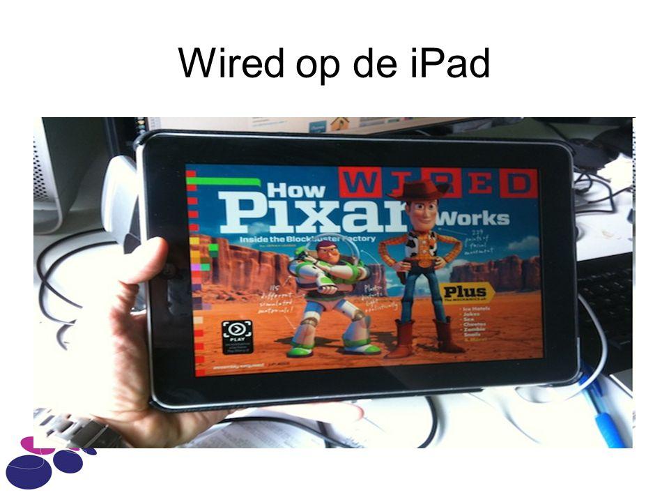 Wired op de iPad