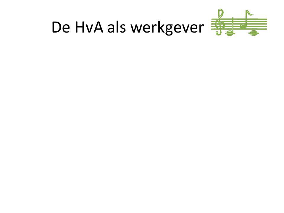 De HvA als werkgever