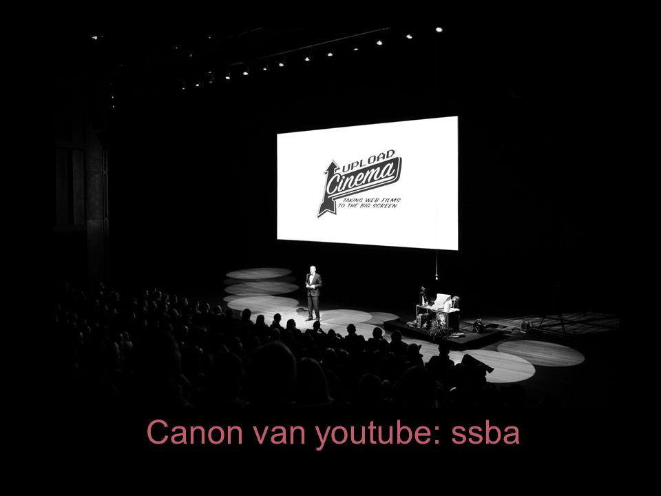 Canon van youtube: ssba