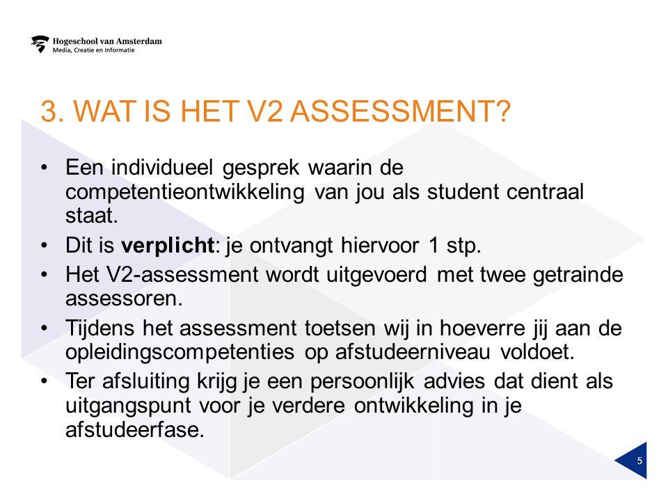 3.WAT IS HET V2 ASSESSMENT.
