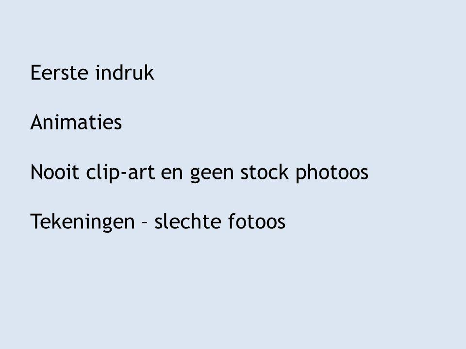 Eerste indruk Animaties Nooit clip-art en geen stock photoos Tekeningen – slechte fotoos
