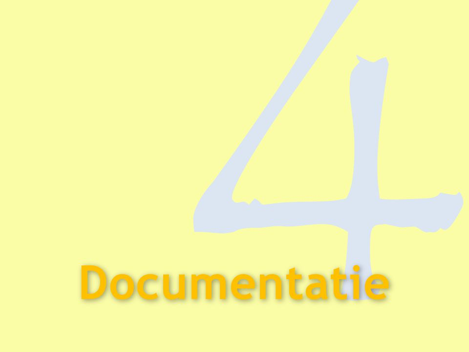 4 Documentatie