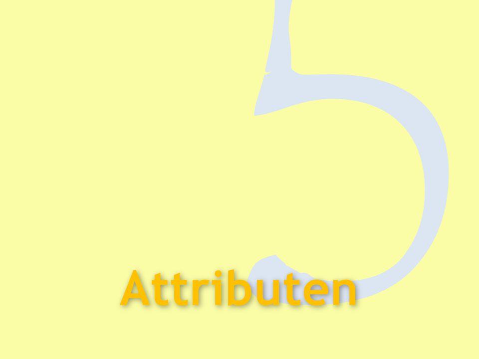 5 Attributen