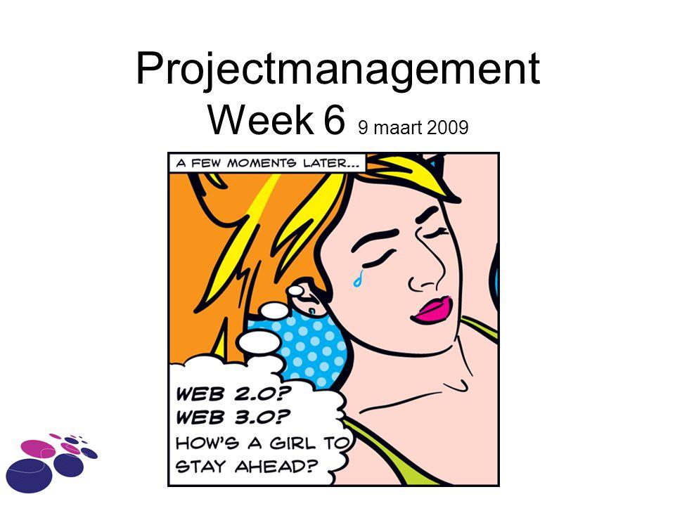 Agenda De PM deliverables van het kernproject Planning Begroting Projectverslag  kort Afronding van een project