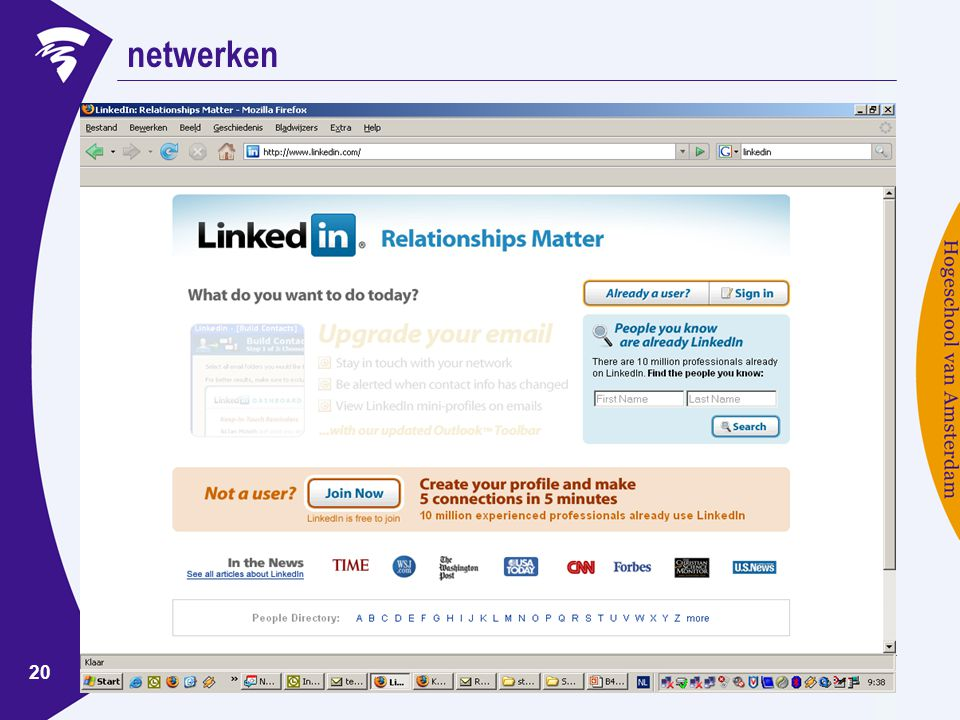 www.ondernemerschaphva.nl 20 netwerken
