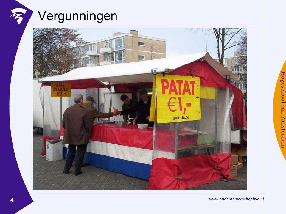 www.ondernemerschaphva.nl 15 Getting started Administratie bijhouden !.