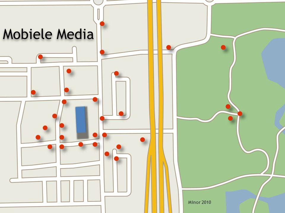 Minor 2010 Mobiele Media