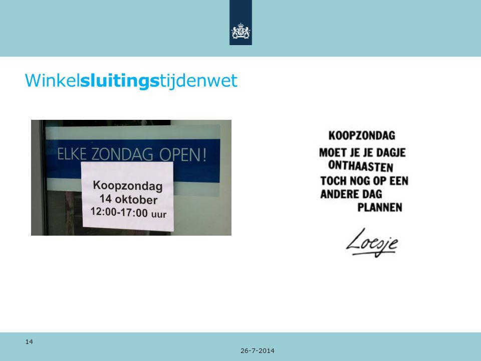 Winkelsluitingstijdenwet 26-7-2014 14