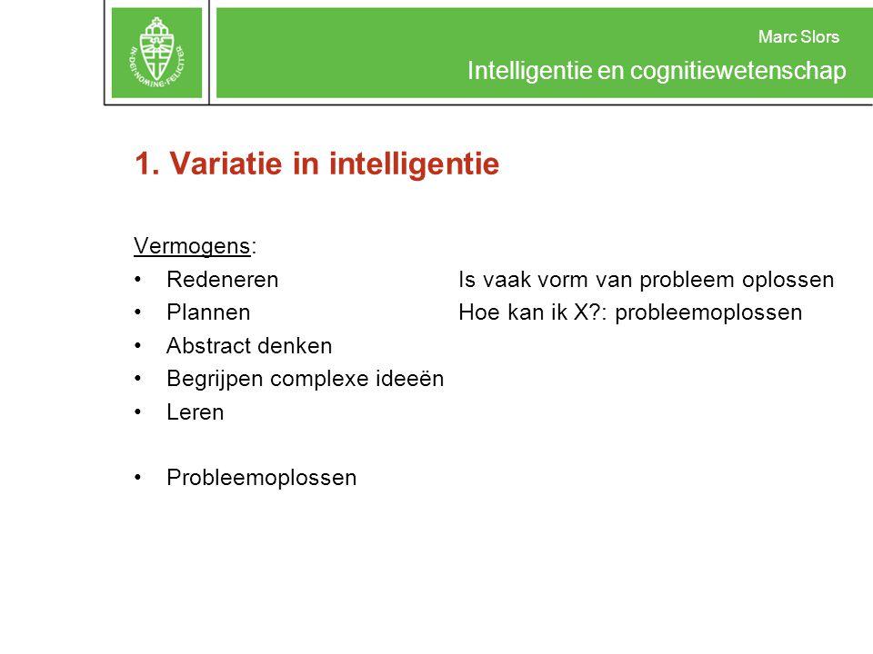 Marc Slors Intelligentie en cognitiewetenschap 3.Een bottom-up/top-down combinatie.