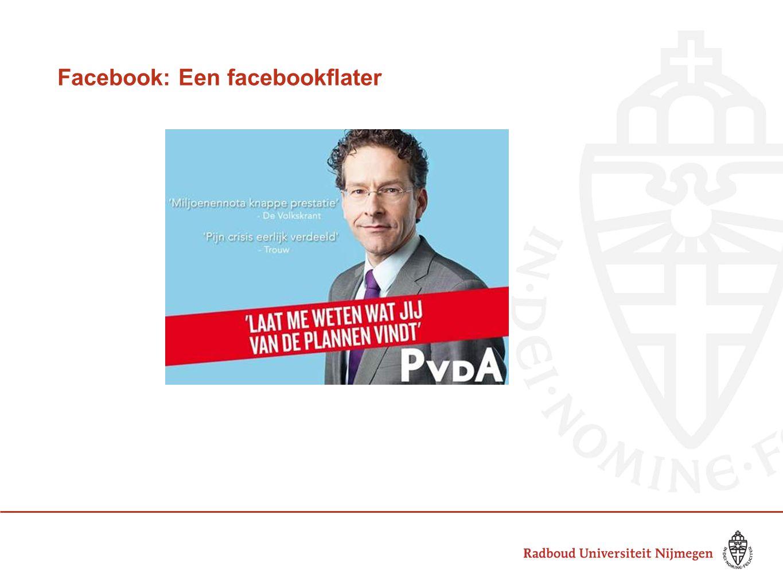 Facebook: Een facebookflater