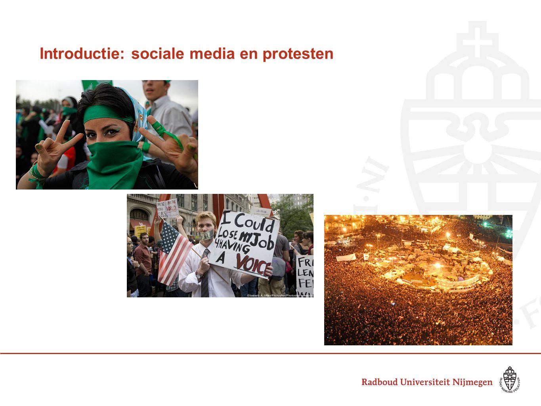 Introductie: sociale media en protesten