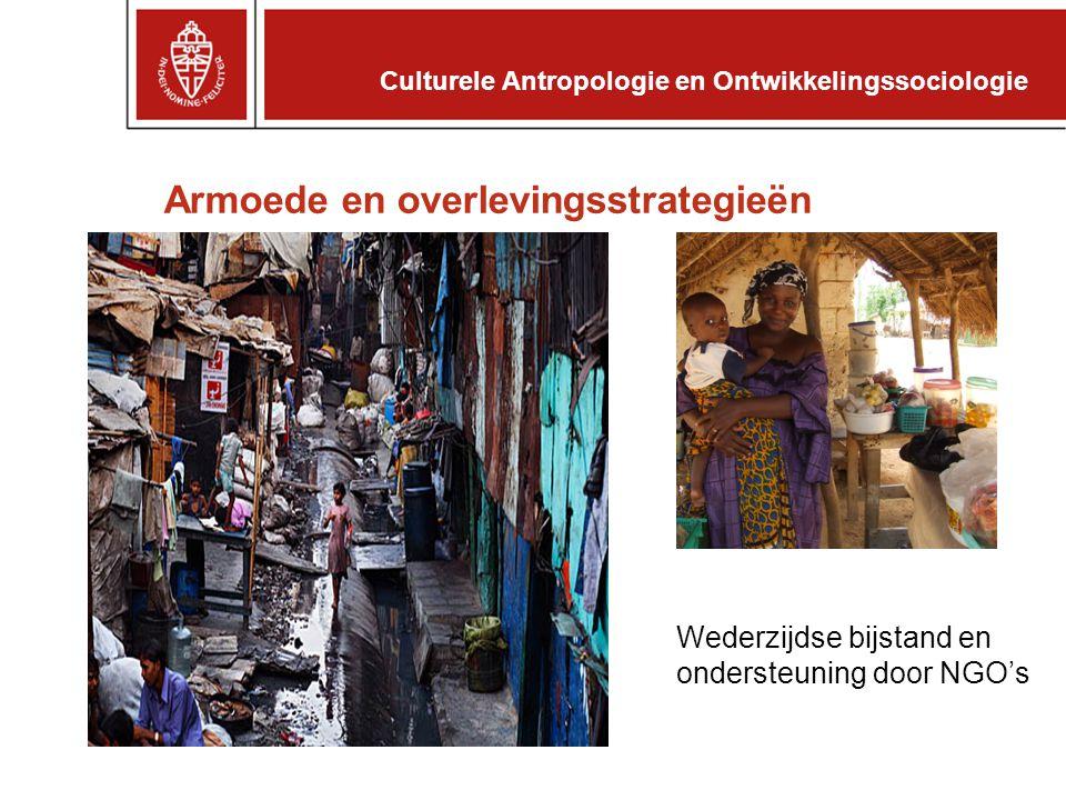 Samenwerking en Collectieve Actie Culturele Antropologie en Ontwikkelingssociologie
