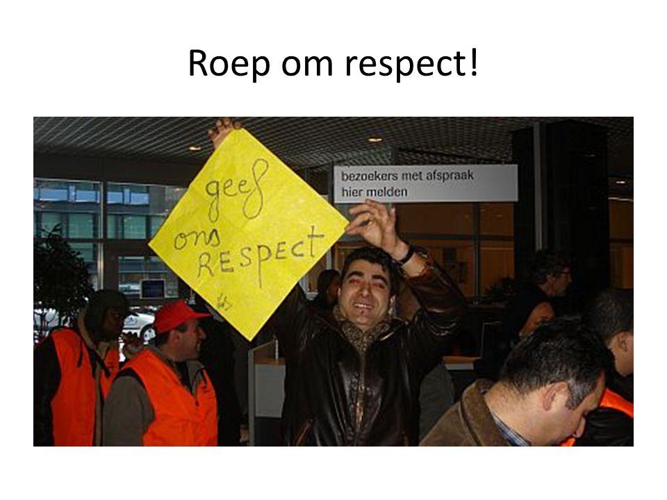 Roep om respect!