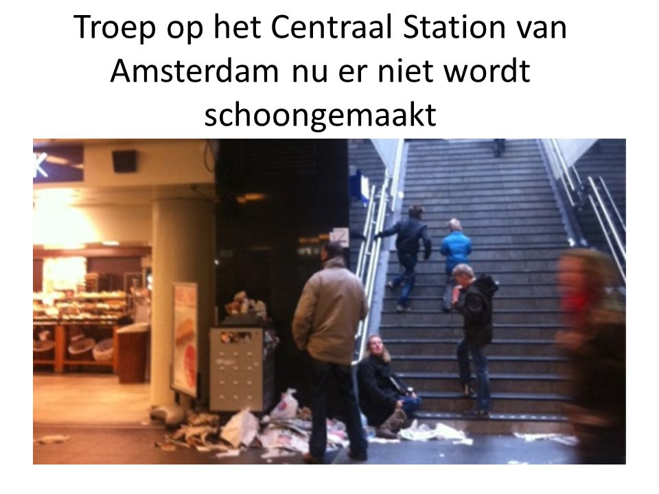 Mars van respect, Amsterdam 4 januari 2012