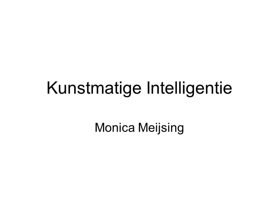 Kunstmatige Intelligentie Monica Meijsing