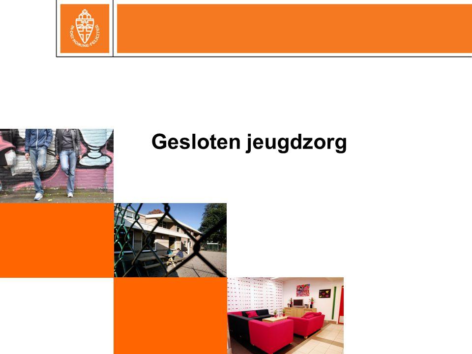 Voorgeschiedenis  Ernstig probleemgedrag  Zorgelijke opvoedingssituatie  OTS & machtiging gesloten plaatsing rechter  Opname jongeren in JJI (civielrechtelijke jongeren)
