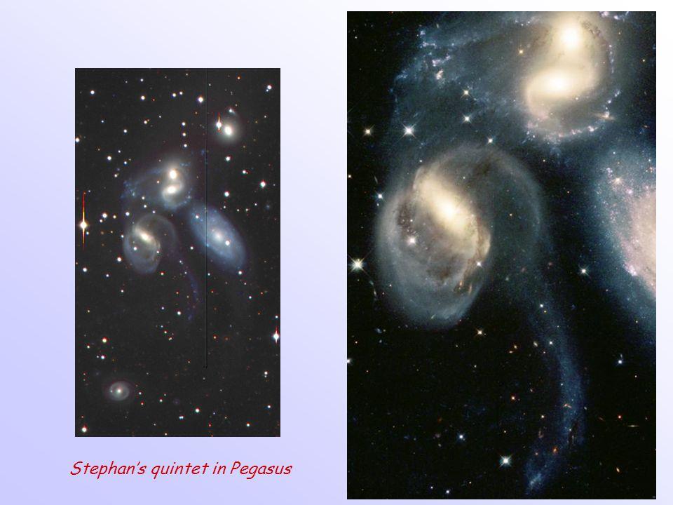 Stephan's quintet in Pegasus