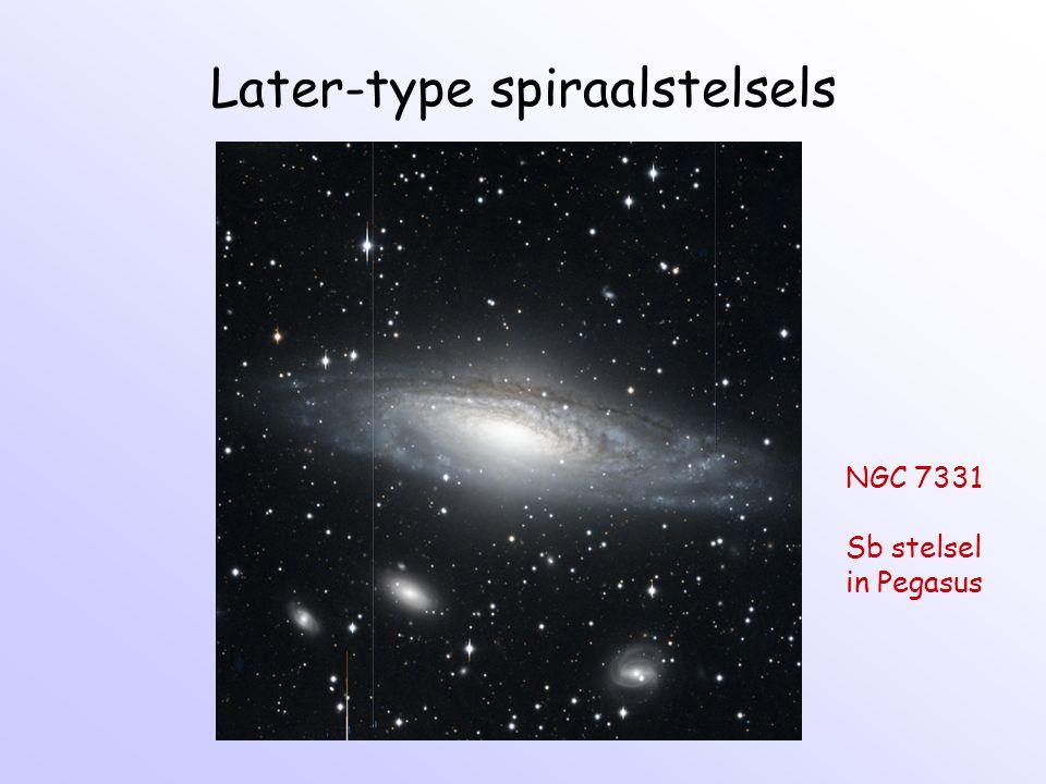 Theorie van spiralen 2: kinematische spiraal: R = R g + X cos(κt+ φ) - Eccentriciteit van banen vormt een spiraal structuur.