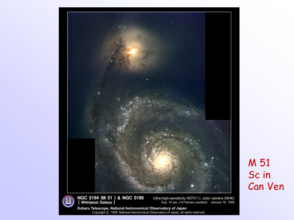 M 51 Sc in Can Ven