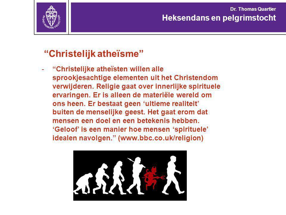 Christelijk atheïsme - Christelijke atheïsten willen alle sprookjesachtige elementen uit het Christendom verwijderen.