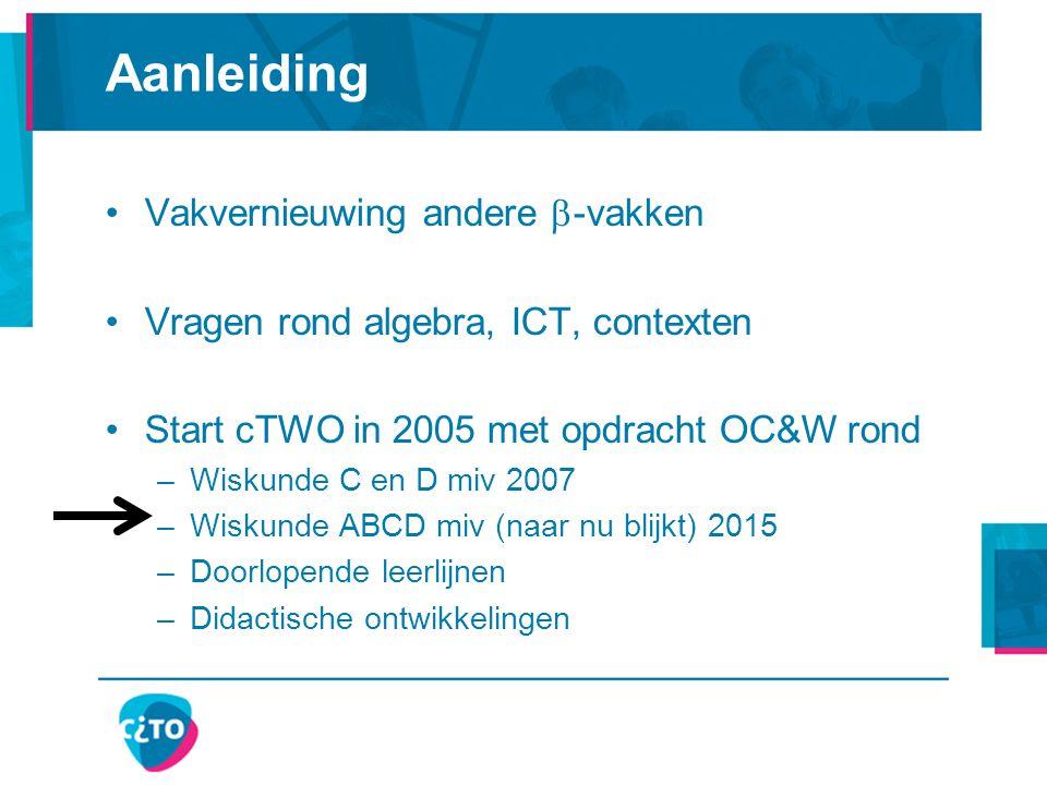 In de visie van cTWO cTWO visiedocument (2007):