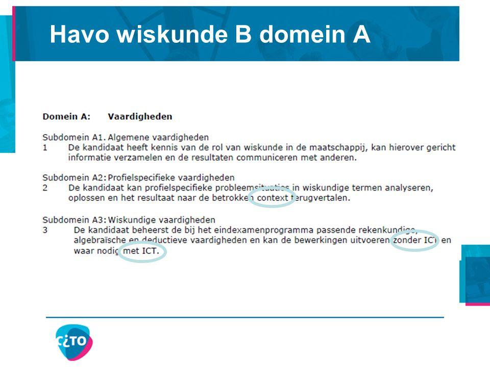 Pilotprogramma, (concept)syllabus, voorbeeldexamenopgaven, voorbeeldexamen: http://www.cve.nl/item/wiskunde_havo_vwo_pilot Examens, pilotexamens: http://www.cito.nl/ en dan Voortgezet onderwijs, Centrale examens, Schriftelijke examens havo/vwo Nieuwe Wiskrant december 2011: artikel Paul Drijvers Wat bedoelen ze toch met denkactiviteiten http://www.fisme.science.uu.nl/wiskrant/artikelen/312/31 2december_drijvers.pdf Verdere informatie: