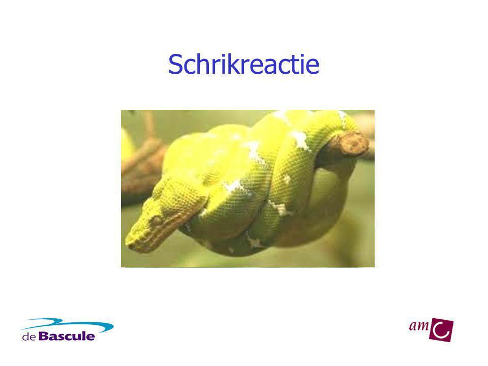 Het vreessysteem Bijniermerg: adrenaline Lichaam wordt in optimale toestand gebracht op gevaar te reageren Bijnierschors: cortisol Lichaam wordt in staat gesteld stress- volle situatie langer te doorstaan
