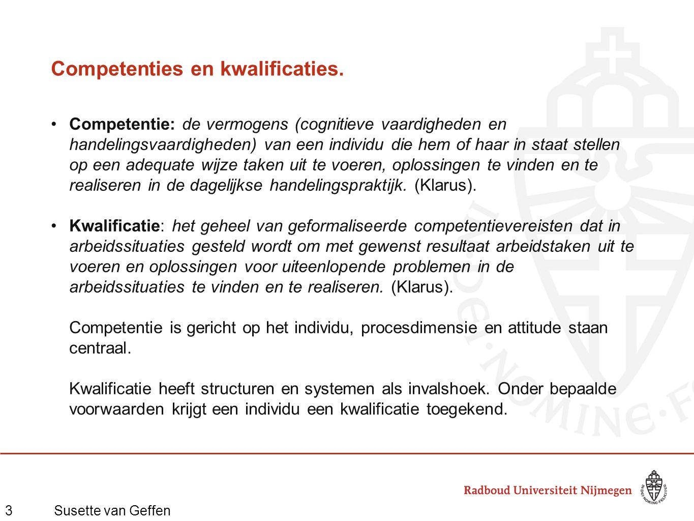 3Susette van Geffen Competenties en kwalificaties.