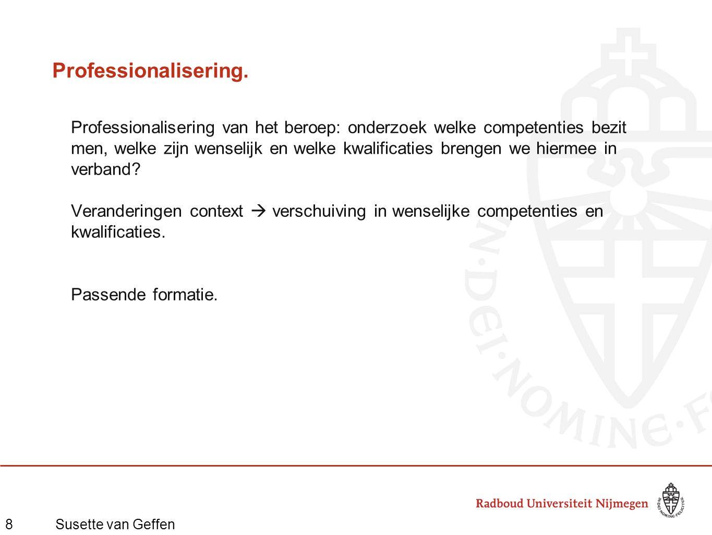 8Susette van Geffen Professionalisering.