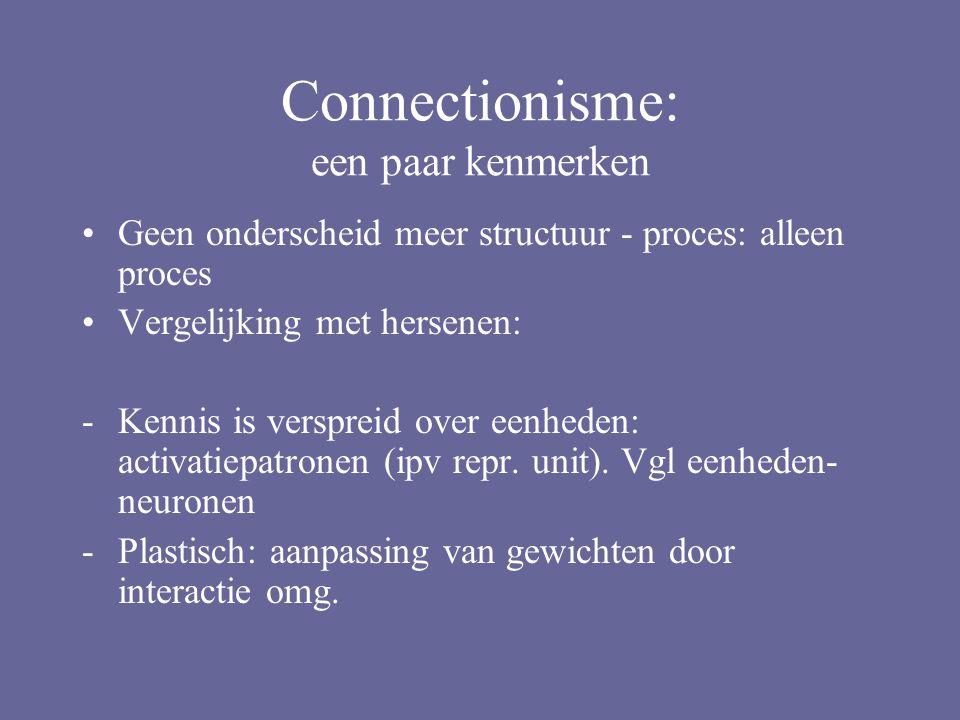 Competence versus performance: Gelman (1972), Donaldson (1978) Afkomstig van Chomsky's competence model Performance is geen goede weergave van competence (vlg.
