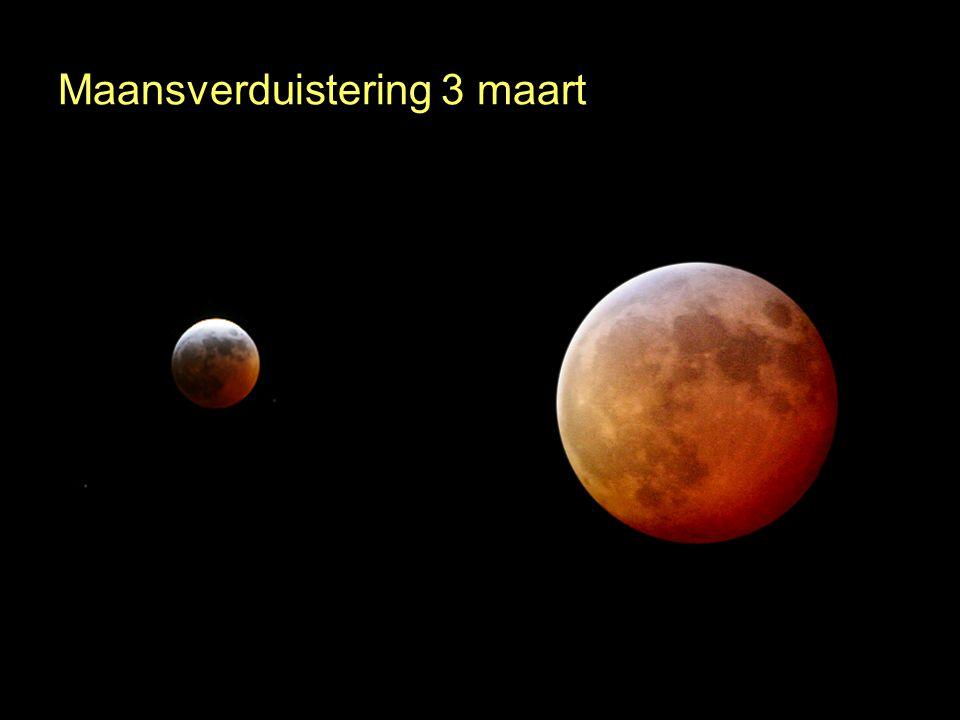 Maansverduistering 3 maart