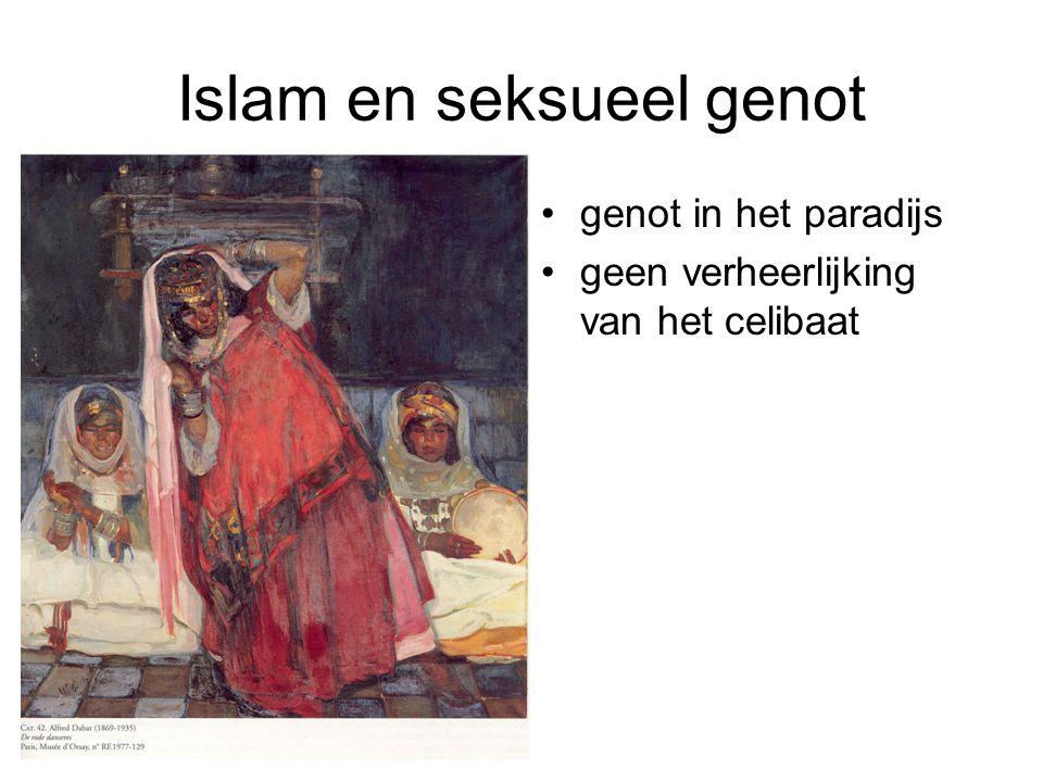 Islam en seksueel genot genot in het paradijs geen verheerlijking van het celibaat