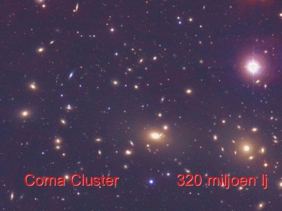 DNA Coma Cluster 320 miljoen lj